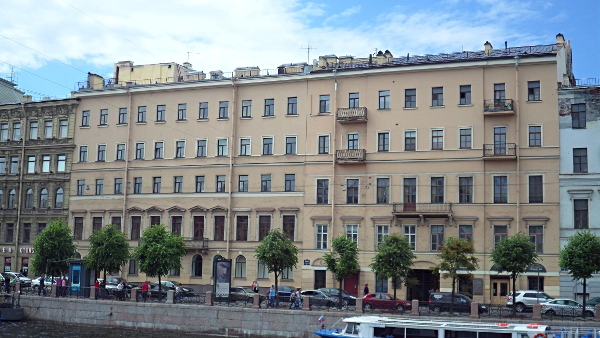 The Steklov Institute of Mathematics at St. Petersburg courtesy Rafa52 via Wikimapia