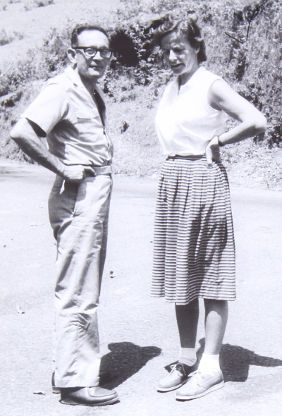 Hans Liepmann with his wife Dietlind courtesy Roddam Narasimha