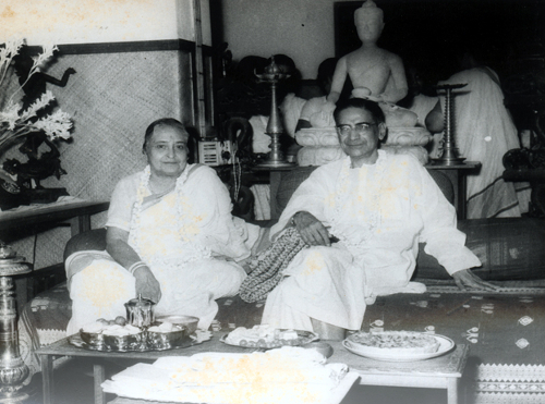 Mahalanobis with his wife Rani© ISI Archive