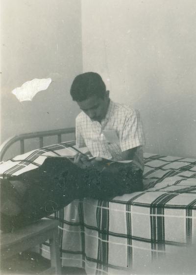 RN during his Ph.D. days at Caltech courtesy Roddam Narasimha