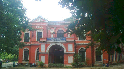 The University Visvesvaraya College of Engineering, where RN did his B.E. courtesy UVCE