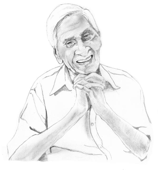 Portrait by Mohan Raj