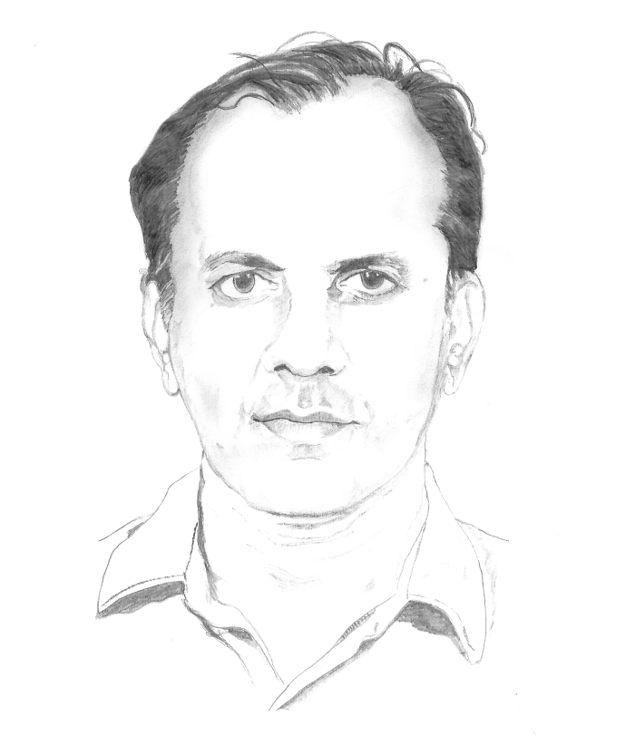 Portrait by R. Mohan