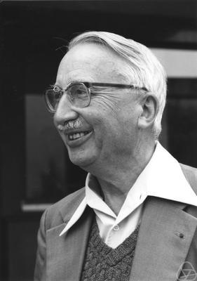 Henri Cartan Gerd Fischer/The Mathematisches Forschungsinstitut Oberwolfach