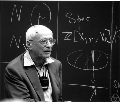 Jean-Pierre Serre Gerd Fischer/The Mathematisches Forschungsinstitut Oberwolfach