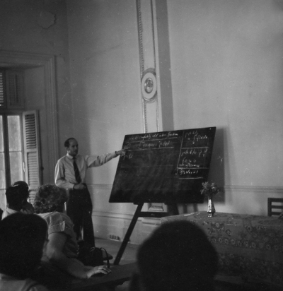 Lecture on Distributions in Poona 1955 Claudine Schwartz