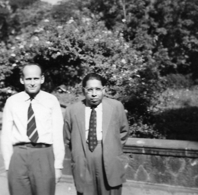 With V.S. Huzurbazar in 1955 Claudine Schwartz