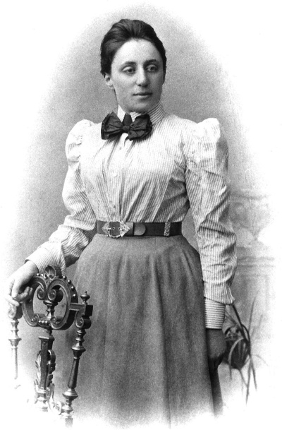 Emmy Noether courtesy Wikimedia Commons