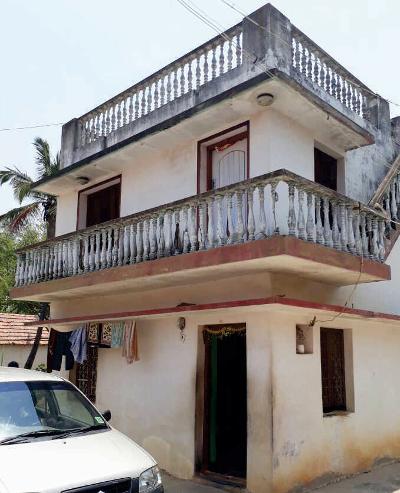 Paternal grandparents' house, Thimmasandra courtesy K.R.Sreenivasan