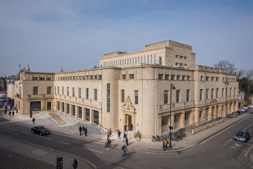 The Weston Library, home of the Bodleian Libraries' Special Collections, where the Bakhshali manuscript is stored at present. John Cairns/Bodleian Libraries, University of Oxford