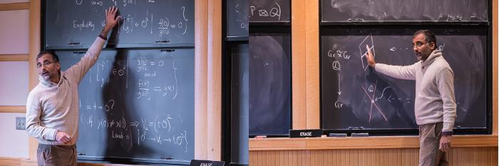 At a seminar at IAS Dan Komoda, Institute for Advanced Study, 2018