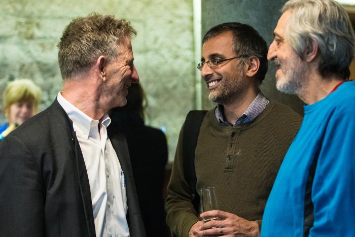 Akshay with Peter Sarnak and Avi Wigderson Dan Komoda, Institute for Advanced Study, 2018